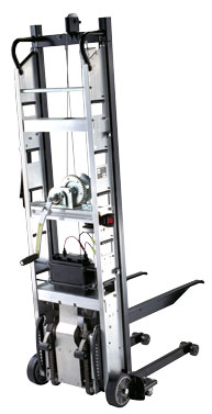 Safe moving safe opening for Motorized stair climbing dolly